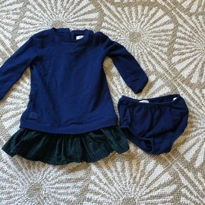 Ralph Lauren sweater dress with bloomers